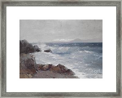 Coastal View Framed Print by Celestial Images