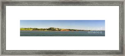 Coastal View Of Prince Edward Island Canada Framed Print
