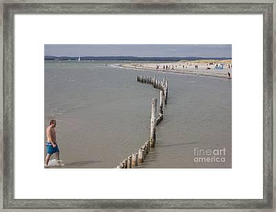Coastal Vision Framed Print by Hugh Reynolds