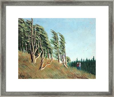 Coastal Wind Framed Print