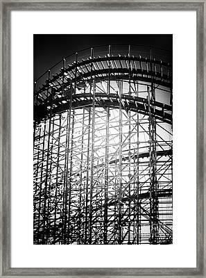 Coaster Light Framed Print by John Rizzuto