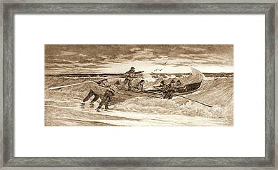 Coastguard 1887 Framed Print