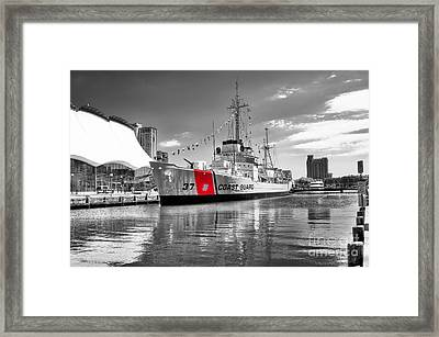 Coastguard Cutter Framed Print