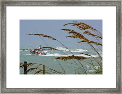 Coasting In Framed Print by Lynda Dawson-Youngclaus