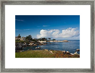 Coastline, Monterey Bay, Monterey Framed Print by Panoramic Images