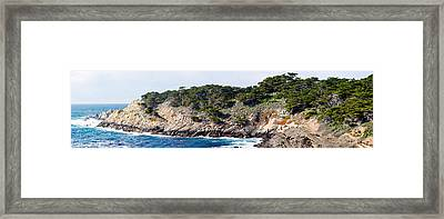 Coastline, Point Lobos State Reserve Framed Print by Panoramic Images
