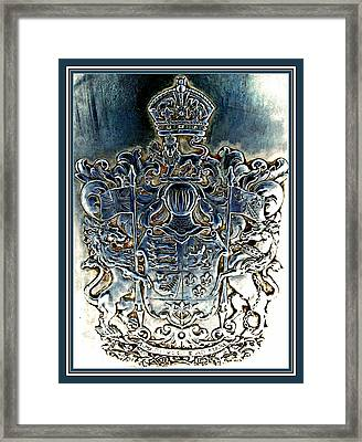 Coat And Armors  Framed Print by Danielle  Parent