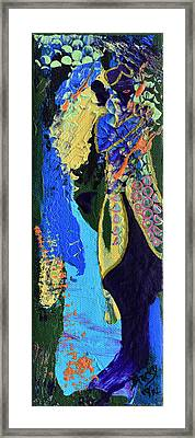 Coat Of Many Colors Framed Print