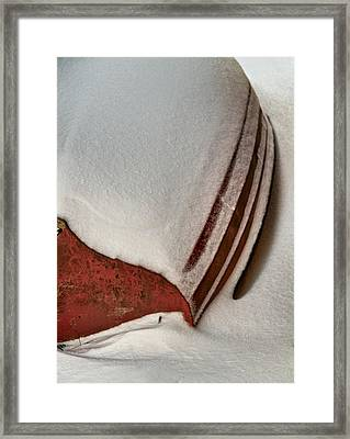 Coated Framed Print by Odd Jeppesen