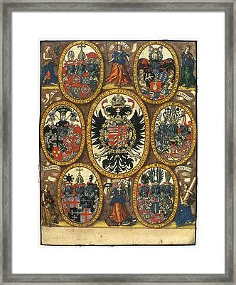 Coats Of Arms Framed Print
