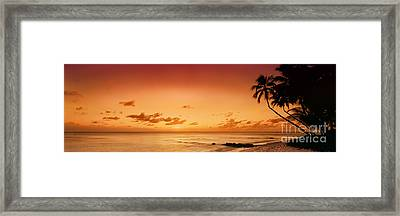 Cobblers Cove - Barbados Framed Print by Rod McLean