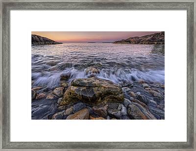 Cobblestones Framed Print by Rick Berk