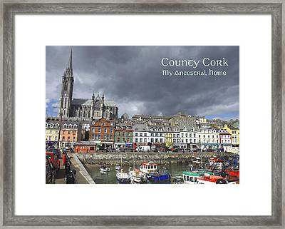 Cobh County Cork Framed Print by Your Irish Heritage