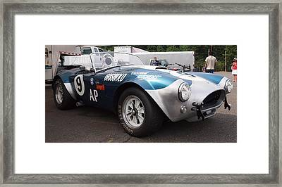 Cobra 9 Framed Print by Jim Moore