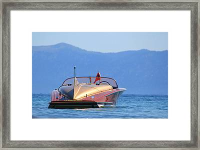Cobra At Tahoe Framed Print