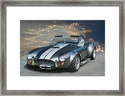 Cobra In The Clouds Framed Print