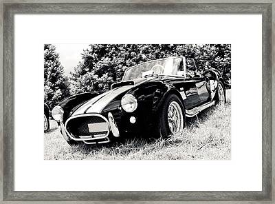 Cobra Sports Car Framed Print by Phil 'motography' Clark