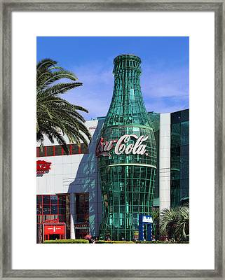 Coke Is It  Framed Print by Viktor Savchenko