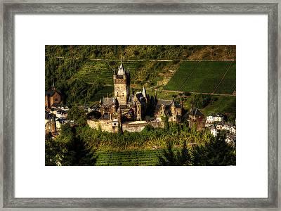 Cochem Castle Framed Print