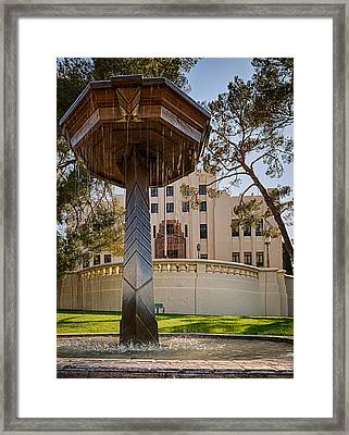 Framed Print featuring the photograph Cochise County Courthouse by Beverly Parks