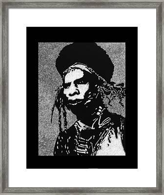 Cochise Framed Print by Trevor Garner