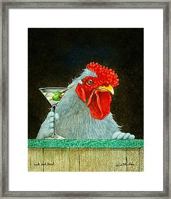 Cock And Load... Framed Print