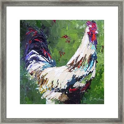 Cock Of The Walk Framed Print