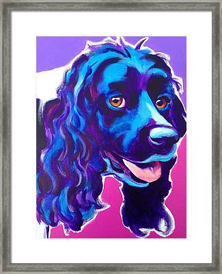 Cocker Spaniel - Dixie Framed Print by Alicia VanNoy Call