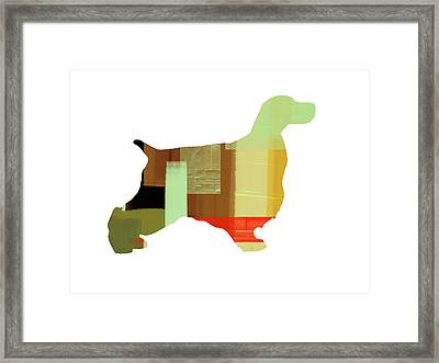 Cocker Spaniel 1 Framed Print by Naxart Studio