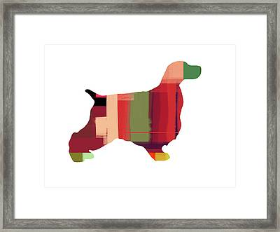 Cocker Spaniel 2 Framed Print by Naxart Studio