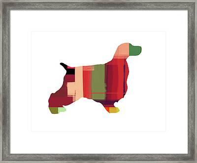 Cocker Spaniel 2 Framed Print by Naxart Studio