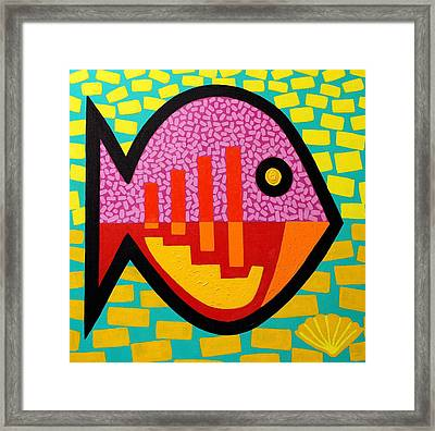 Cockleshell Fish Framed Print by John  Nolan