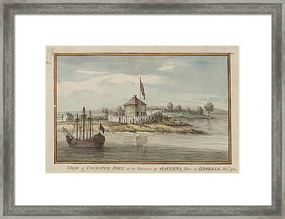 Cockspur Fort Framed Print