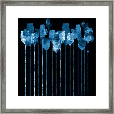 Cocktail Hour 5 Framed Print by Angelina Vick