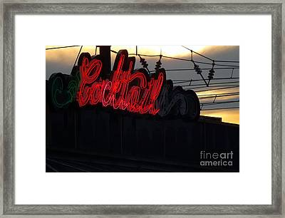 Cocktail Hour Framed Print by Robyn King
