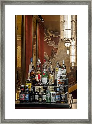 Cocktail Hour Framed Print