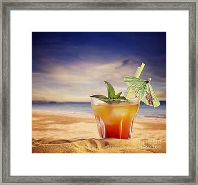 Cocktail  Framed Print by Jelena Jovanovic