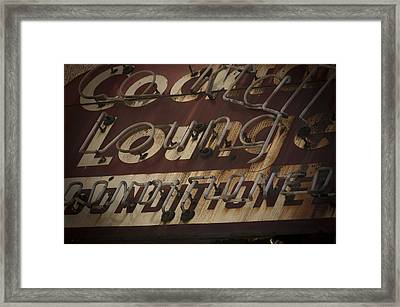 Cocktail Lounge Framed Print by Jessica Berlin