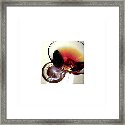 Cocktail_12.31.12 Framed Print by Paul Hasara