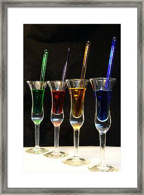 Cocktails Anyone Framed Print by Paul Ward
