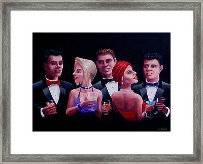 Cocktails Framed Print