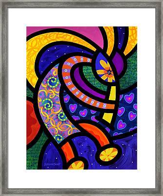 Coco Koko Pelli Framed Print