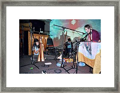 Coco Rosie At The Doug Fir In Portland Oregon Framed Print