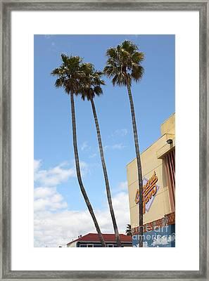 Coconut Grove At The Santa Cruz Beach Boardwalk California 5d23842 Framed Print