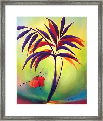 Coconuts Framed Print by Karin Eisermann