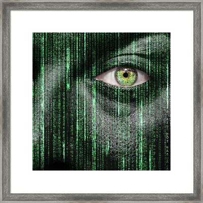 Code Breaker Framed Print by Semmick Photo