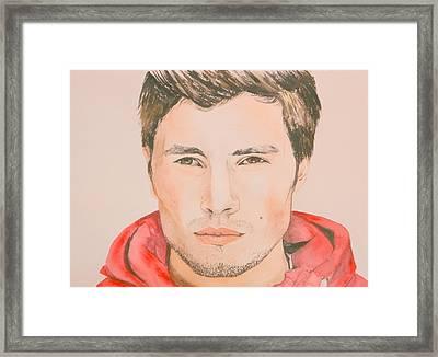 Cody Cici Framed Print by Betty-Anne McDonald