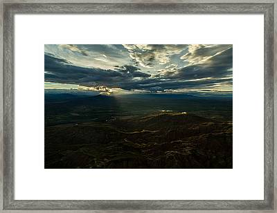 Cody Sunset Framed Print by John Daly