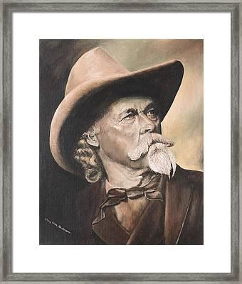 Cody - Western Gentleman Framed Print