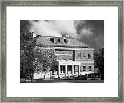 Coe College Mc Cabe Hall Framed Print by University Icons